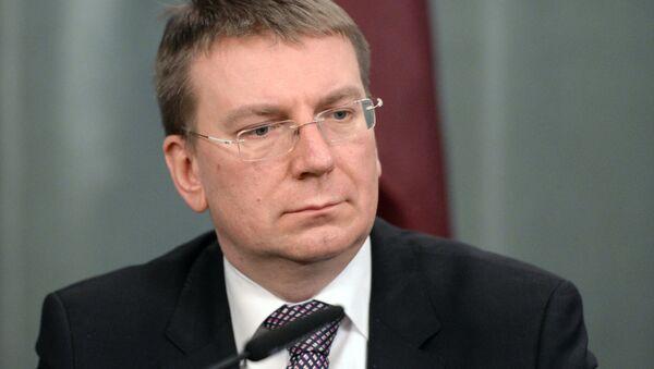Глава МИД Латвии Эдгар Ринкевич - Sputnik Латвия