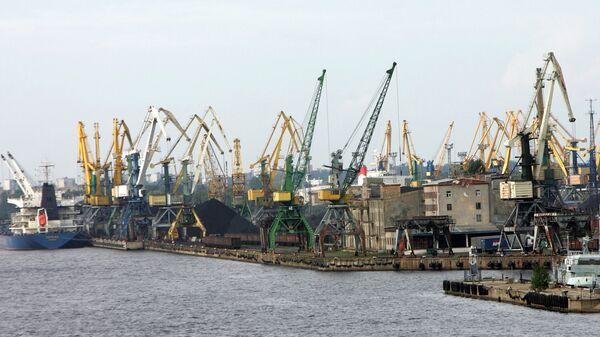 Порт в Риге - Sputnik Латвия
