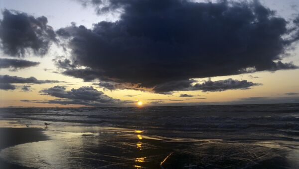 Закат на Балтийском море - Sputnik Латвия