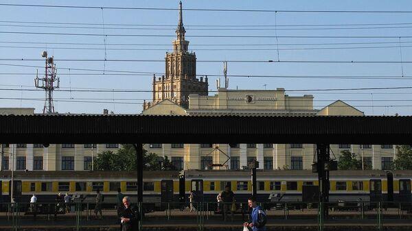 Железнодорожная станция Рига-Пассажирская - Sputnik Латвия