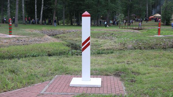 На стыке границы России, Латвии и Беларуси - Sputnik Латвия