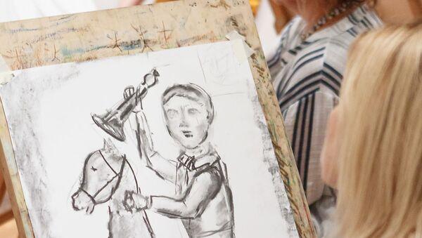 Мастер-класс в Национальном художественном музее - Sputnik Латвия