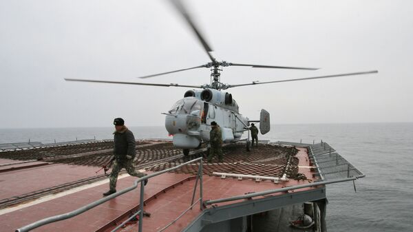 Вертолет Ка-27 ПЛ - Sputnik Латвия