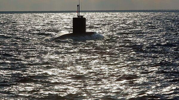 Подводная лодка проекта Варшавянка в Балтийском море - Sputnik Латвия