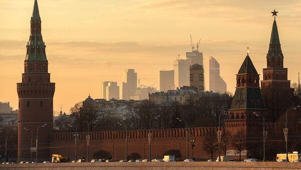 Вид на Московский кремль - Sputnik Латвия