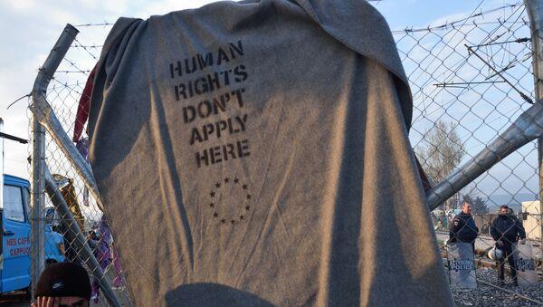Ситуация с беженцами - Sputnik Latvija