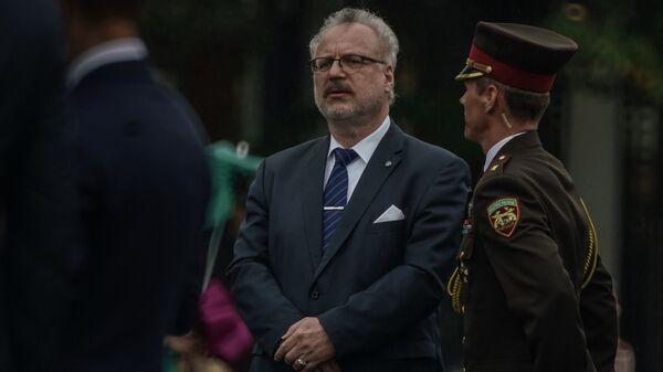 Президент Латвии Эгилс Левитс - Sputnik Latvija
