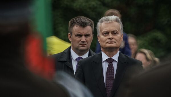 Президент Литвы Гитанас Науседа - Sputnik Latvija