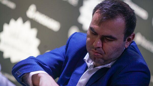 Азербайджанский гроссмейстер Шахрияр Мамедьяров - Sputnik Латвия