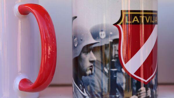 Кружки на на нацистской ярмарке в Валге - Sputnik Латвия