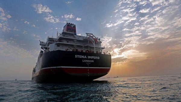 Британский танкер Stena Impero - Sputnik Латвия