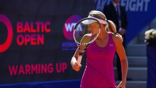 Латвийская теннисистка Диана Марцинкевич - Sputnik Латвия