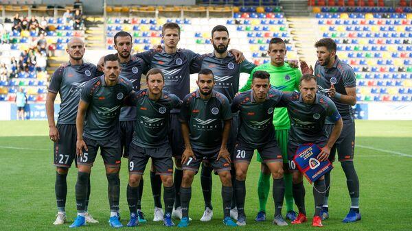 Матч 2-го квалификационного раунда Лиги Европы между футбольным клубом Рига и польским Пяст - Sputnik Латвия