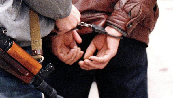 Задержанный преступник - Sputnik Латвия
