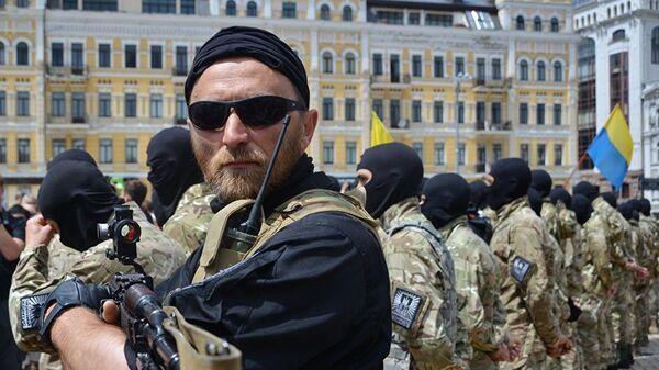 Новобранцы батальона «Азов» - Sputnik Latvija