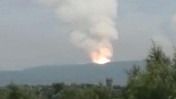 Взрыв на территории воинской части в Ачинском районе - Sputnik Латвия