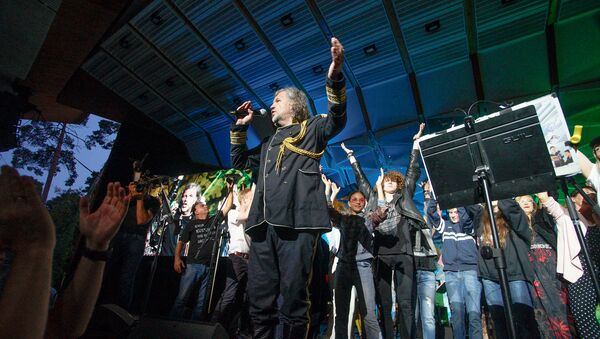 На фестивале Summertime - приглашает Инессе Галанте прошел вечер Эмира Кустурицы и его The No Smoking Orchestra - Sputnik Латвия