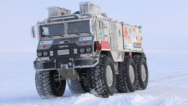 Снегоболотоход Бурлак - Sputnik Латвия