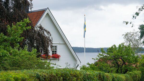 Флаг Швеции - Sputnik Latvija