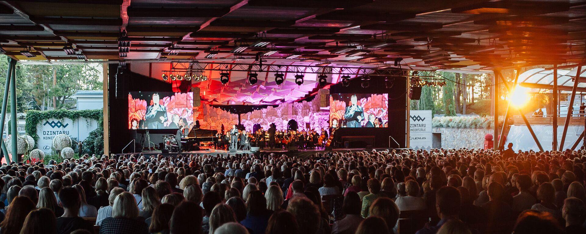 Гала-концерт фестиваля Инессы Галанте - Sputnik Латвия, 1920, 23.08.2020