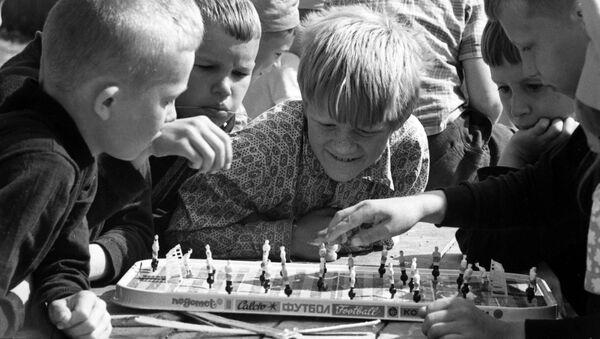 Настольный футбол. 1973 год - Sputnik Латвия