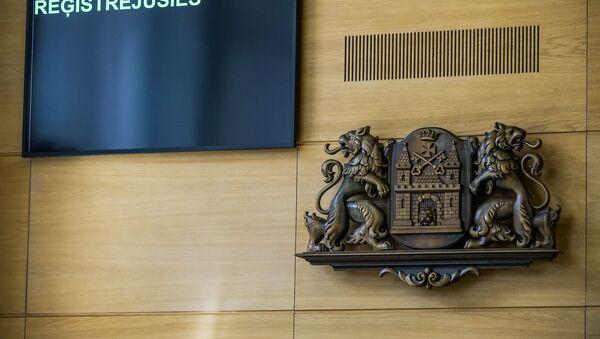 Заседание Рижской думы и вопросы кандидату в мэры Риги Олегу Бурову  - Sputnik Latvija