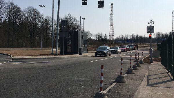 Контрольно-пропускной пункт Виентули - Sputnik Латвия