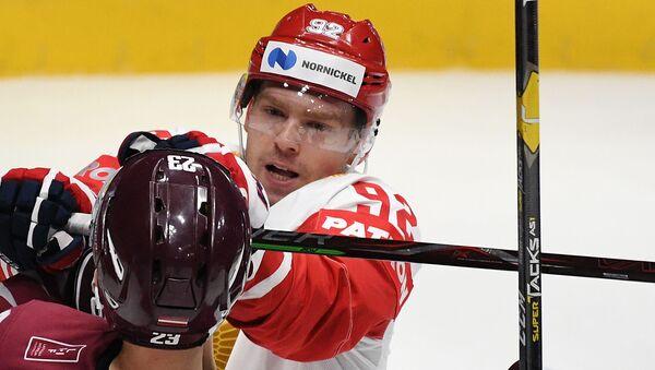 Игрок сборной России Евгений Кузнецов в матче ЧМ-2019 по хоккею - Sputnik Латвия