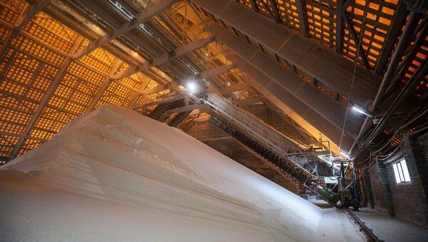 Сильвинитовая обогатительная фабрика в Пермском крае - Sputnik Латвия