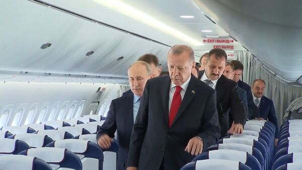 Авиасалон МАКС-2019 открылся в России: что посмотреть - Sputnik Latvija