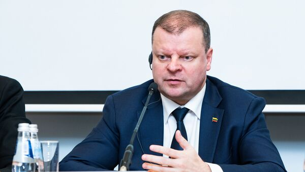 Премьер-министр Саулюс Сквернялис, архивное фото - Sputnik Latvija