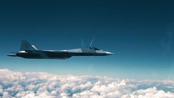 Плоский штопор Су-57 - Sputnik Latvija