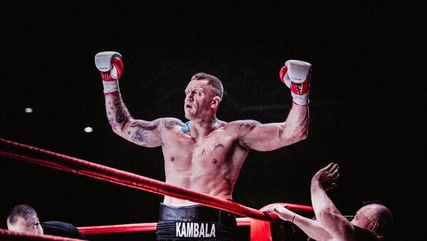 Каспарс Камбала на ринге - Sputnik Латвия