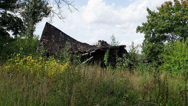 Дом, в котором в годы ВОВ размещался штаб латвийских карателей - Sputnik Latvija