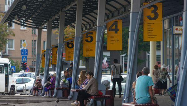 Автовокзал в Даугавпилсе - Sputnik Латвия