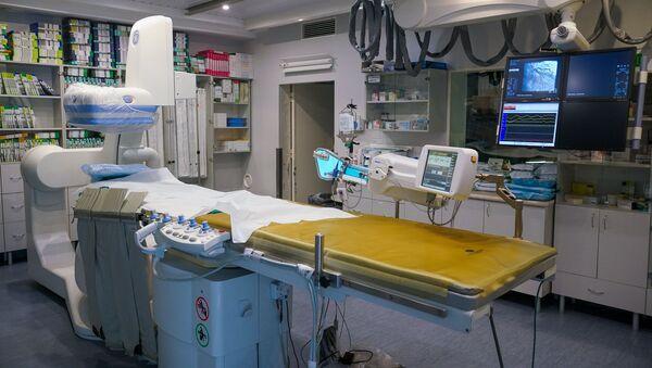 Операционный зал Даугавпилсской региональной больницы - Sputnik Латвия