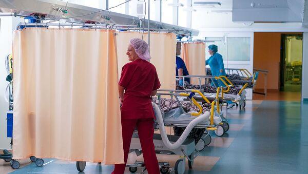Послеоперационная палата в больнице - Sputnik Латвия