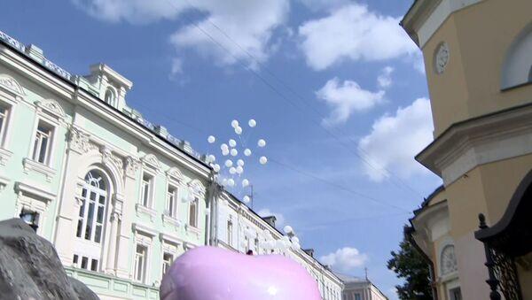 Белые шары в память о Беслане - Sputnik Латвия