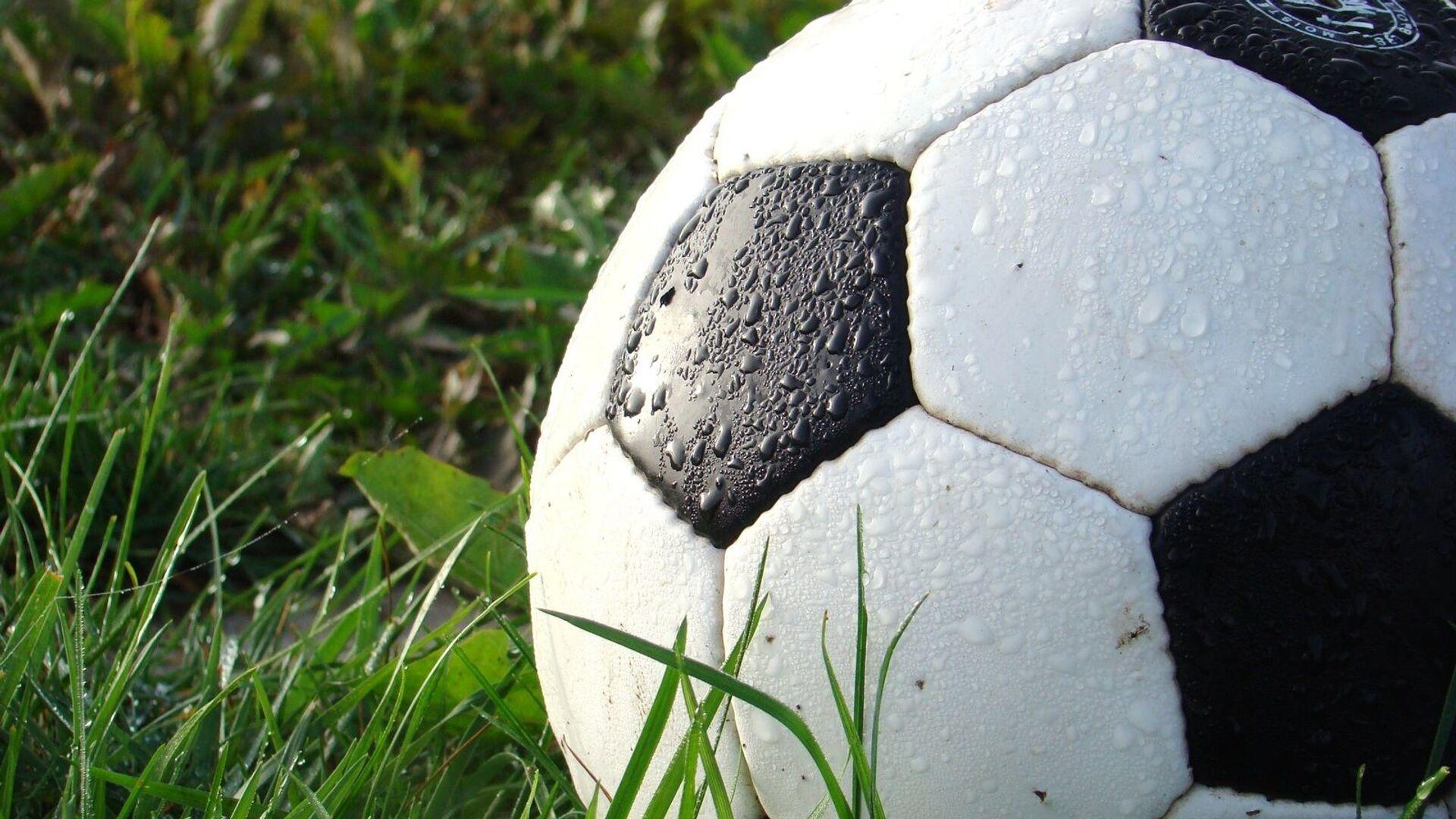 Футбольный мяч - Sputnik Латвия, 1920, 02.09.2021