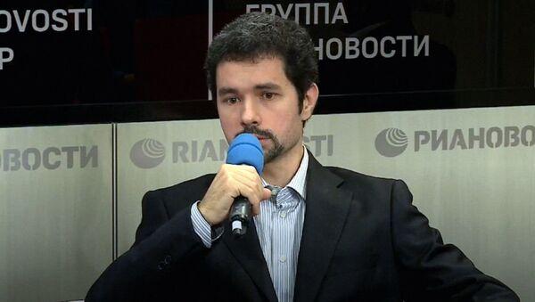 Руководитель аналитического управления Фонда национальной энергетической безопасности Александр Пасечник - Sputnik Латвия
