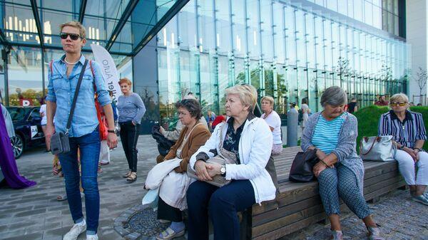 Открытие нового корпуса торгового центра Alfa - Sputnik Latvija