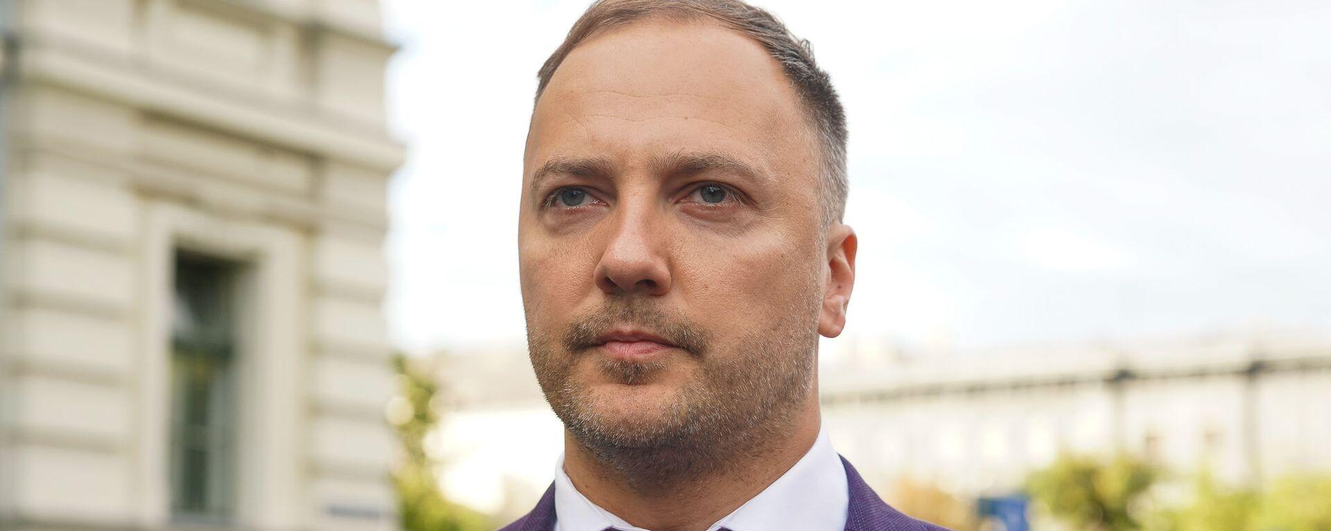 Министр внутренних дел Сандис Гиргенс - Sputnik Латвия, 1920, 12.08.2021