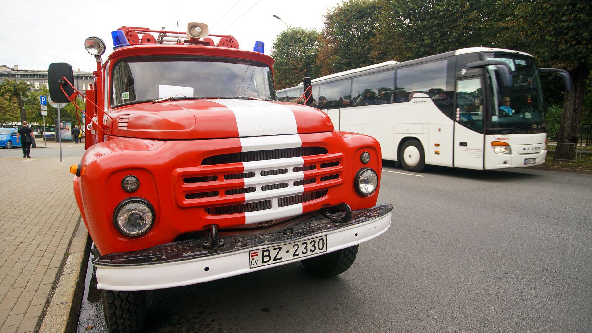 Пожарный автомобиль из Юрмалы 1984 года выпуска - Sputnik Латвия, 1920, 28.09.2021