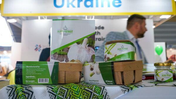 Стенд Украины на выставке Riga Food - 2019 - Sputnik Latvija