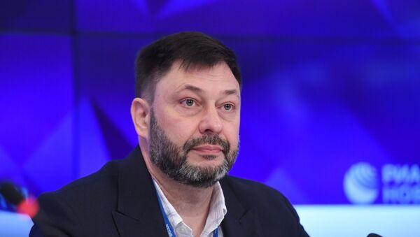 Руководитель портала РИА Новости Украина Кирилл Вышинский - Sputnik Латвия