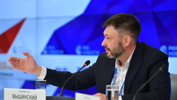 Пресс-конференция Кирилла Вышинского - Sputnik Latvija