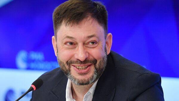 Руководитель портала РИА Новости Украина Кирилл Вышинский в МИА Россия сегодня - Sputnik Латвия