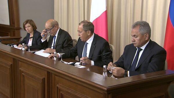Европа не будет в безопасности без крепких отношений с Россией – МИД Франции - Sputnik Latvija