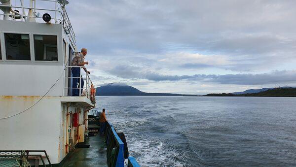 Смотреть на море не надоедает все четыре часа пути - Sputnik Латвия
