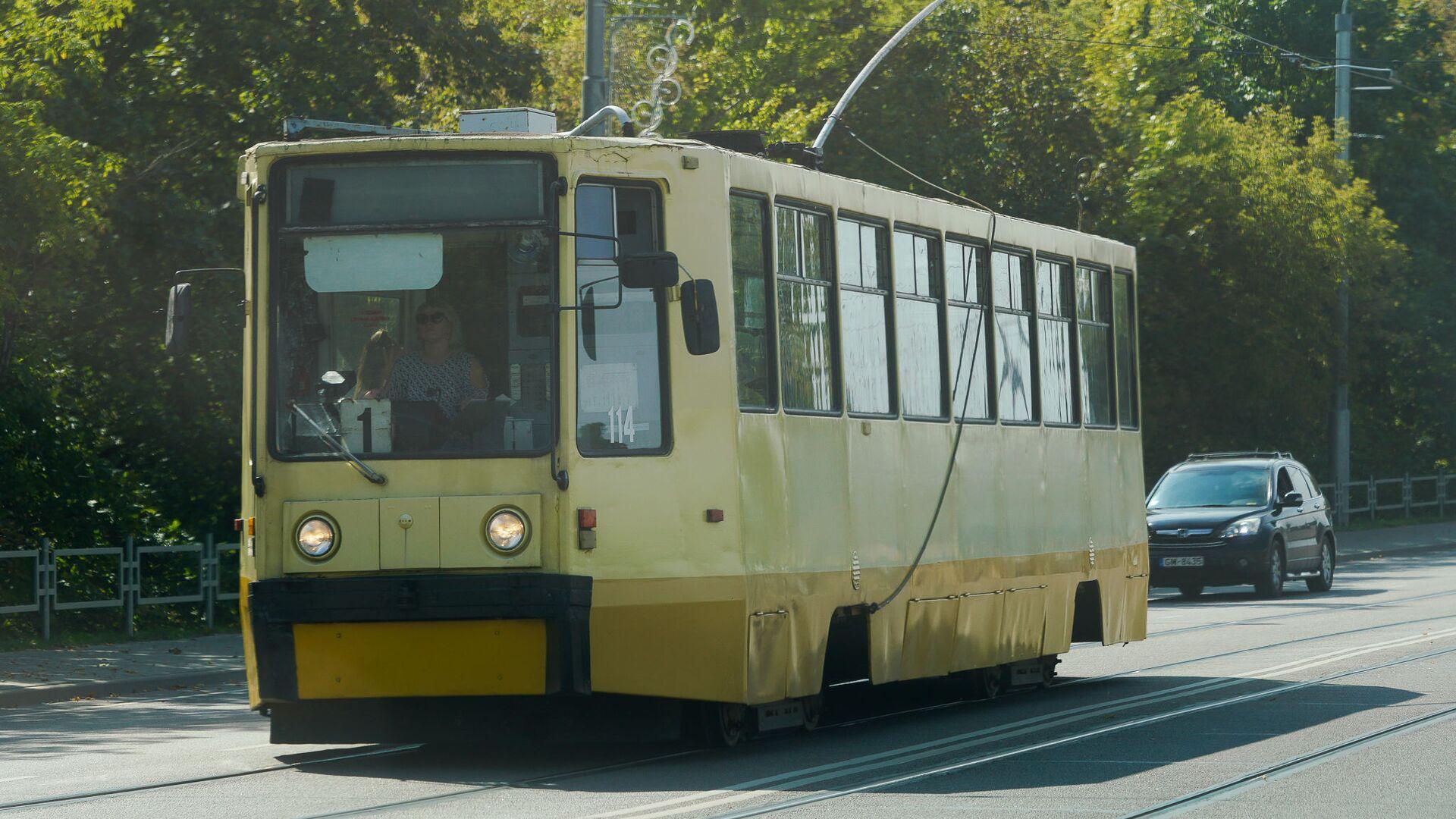 Старый трамвай в Даугавпилсе - Sputnik Латвия, 1920, 04.09.2021